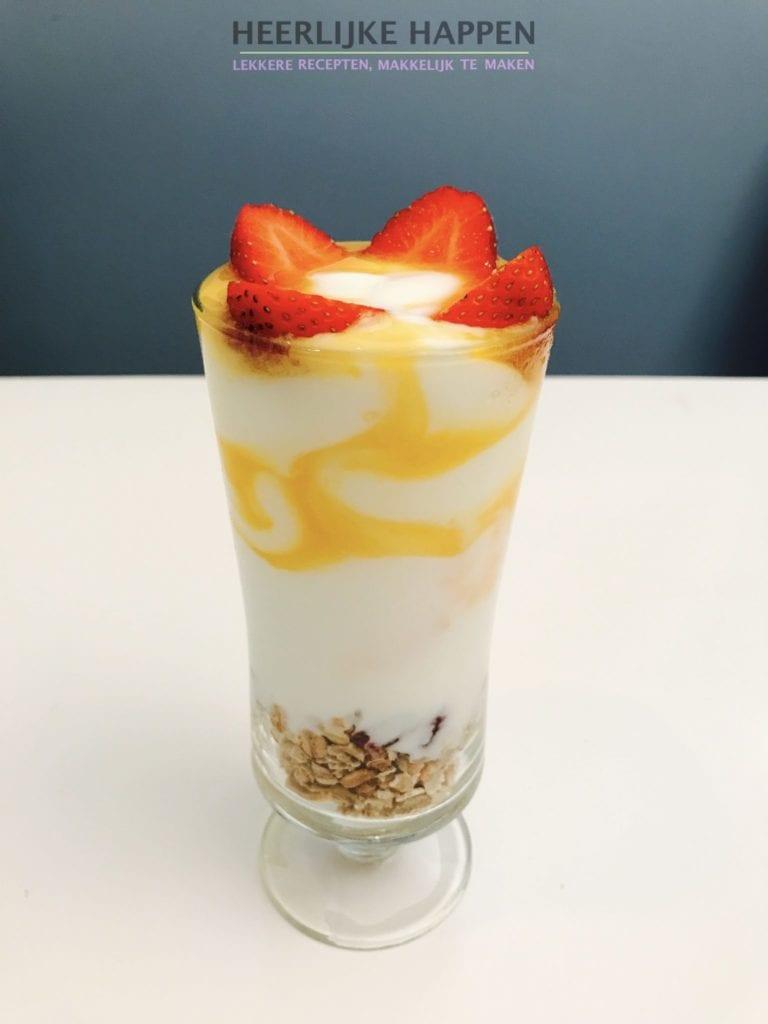 Yoghurt twist
