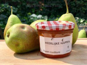 Huisgemaakte peren confiture