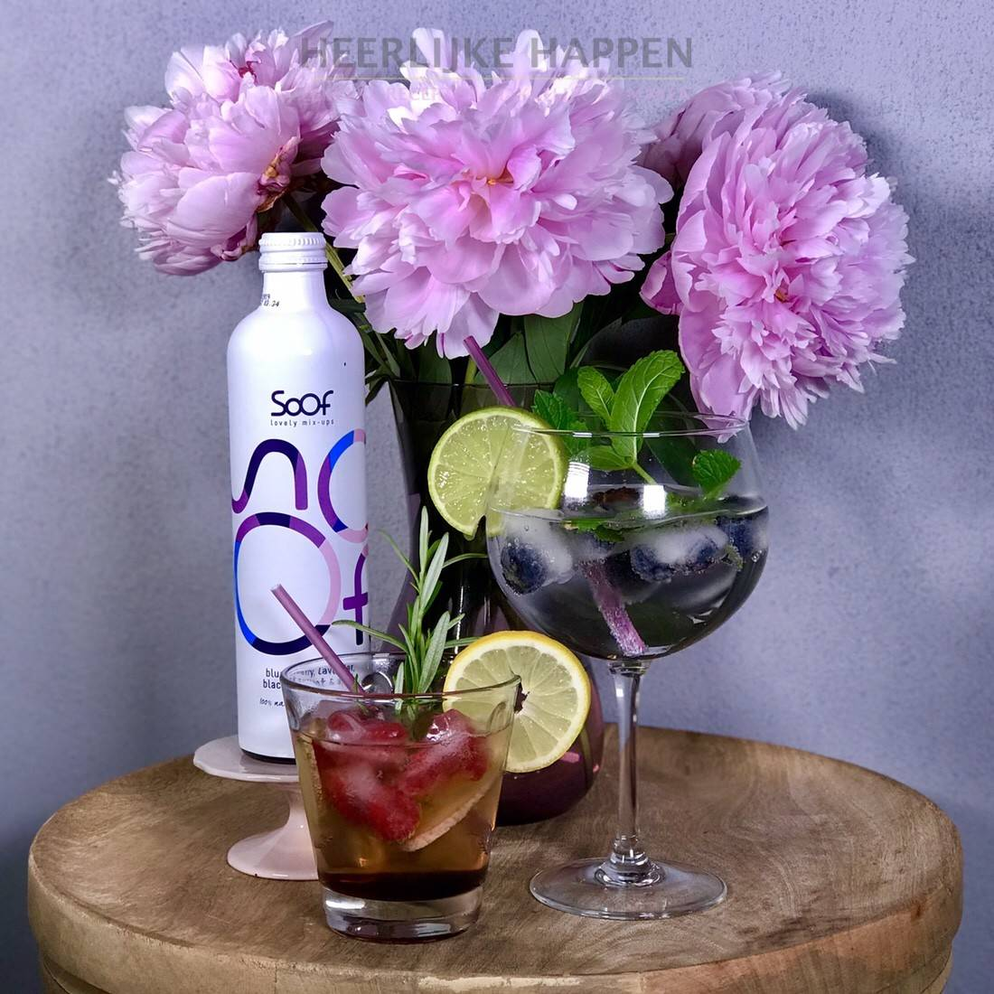 Zomerse kruidige cocktails