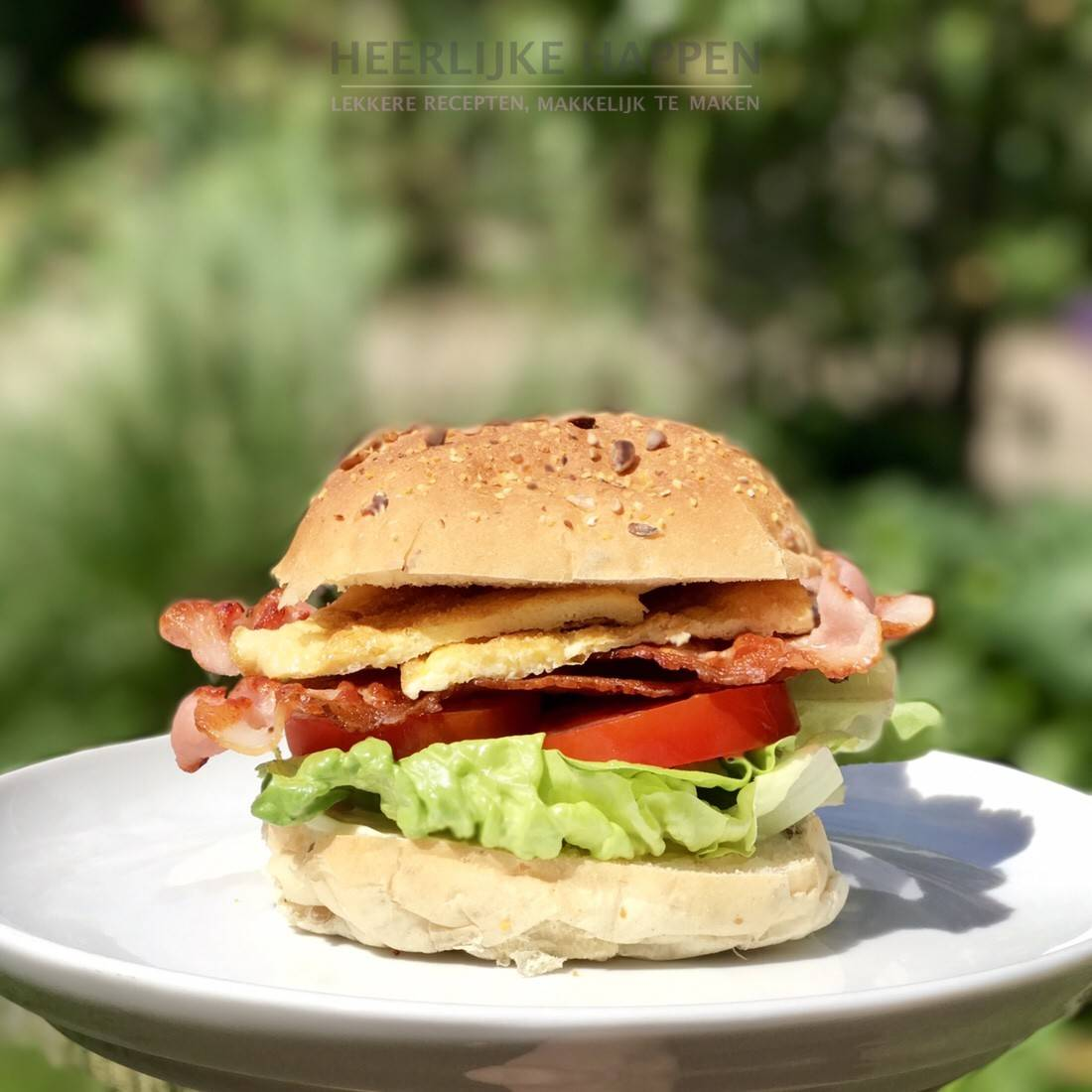 Bacon Lettuce Tomato sandwich BLT