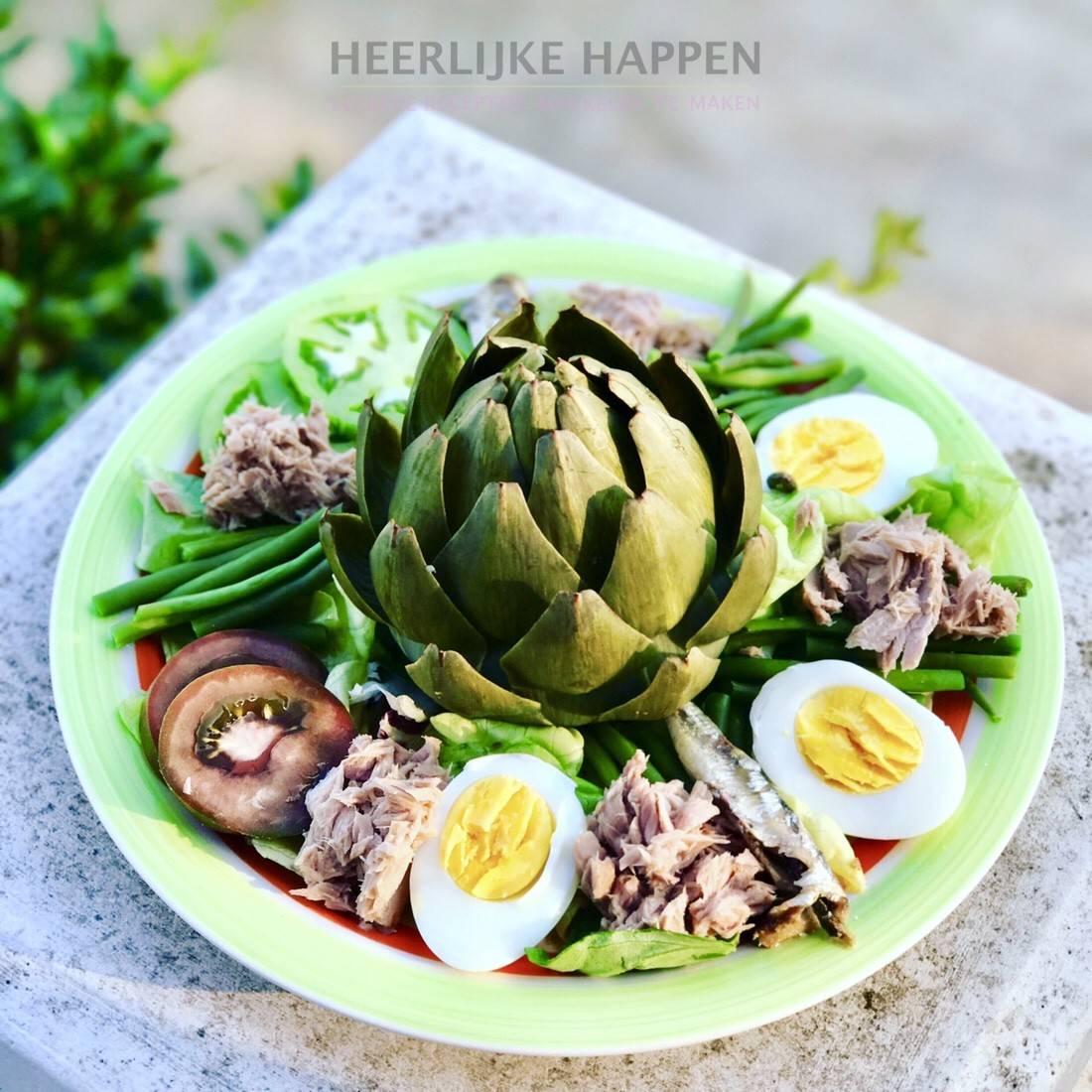 Salade Nicoise a la Francine