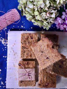 Breakfast bar met noten