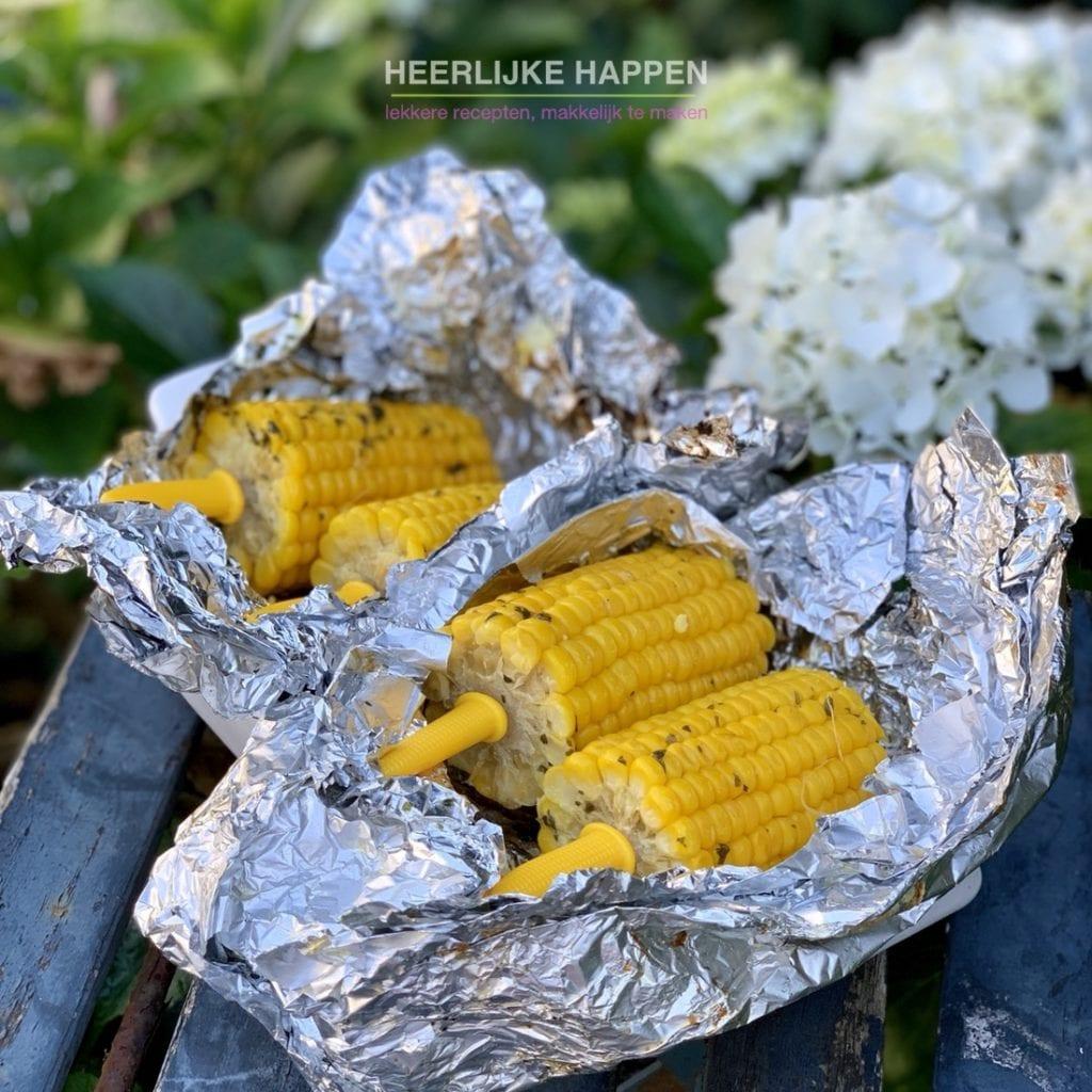 Boterzachte maiskolf van de BBQ Heerlijke Happen