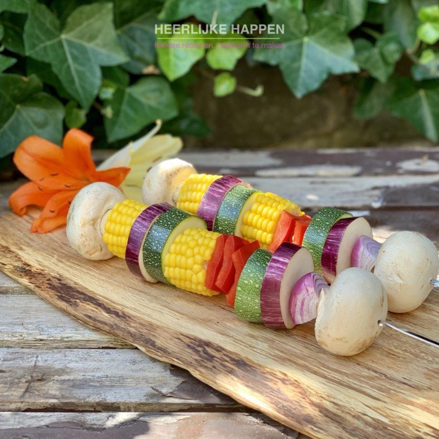 honey glazed groentespies van de bbq