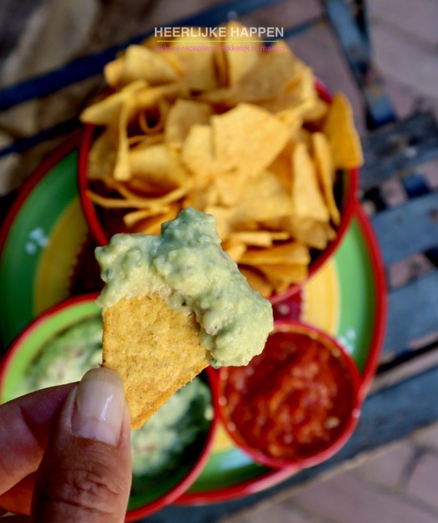 Een heerlijke huisgemaakte guacamole