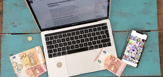 Influencer marketing en geld verdienen