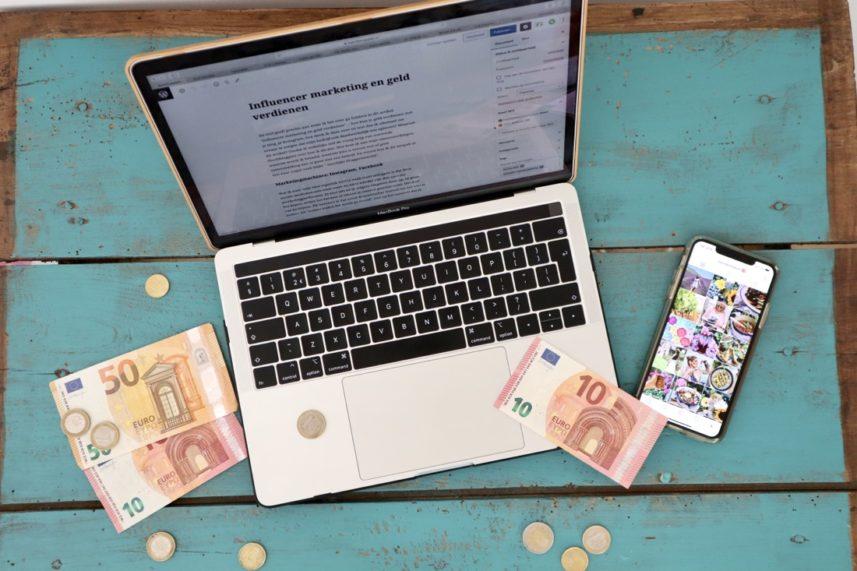 Influencer marketing en geld verdienen